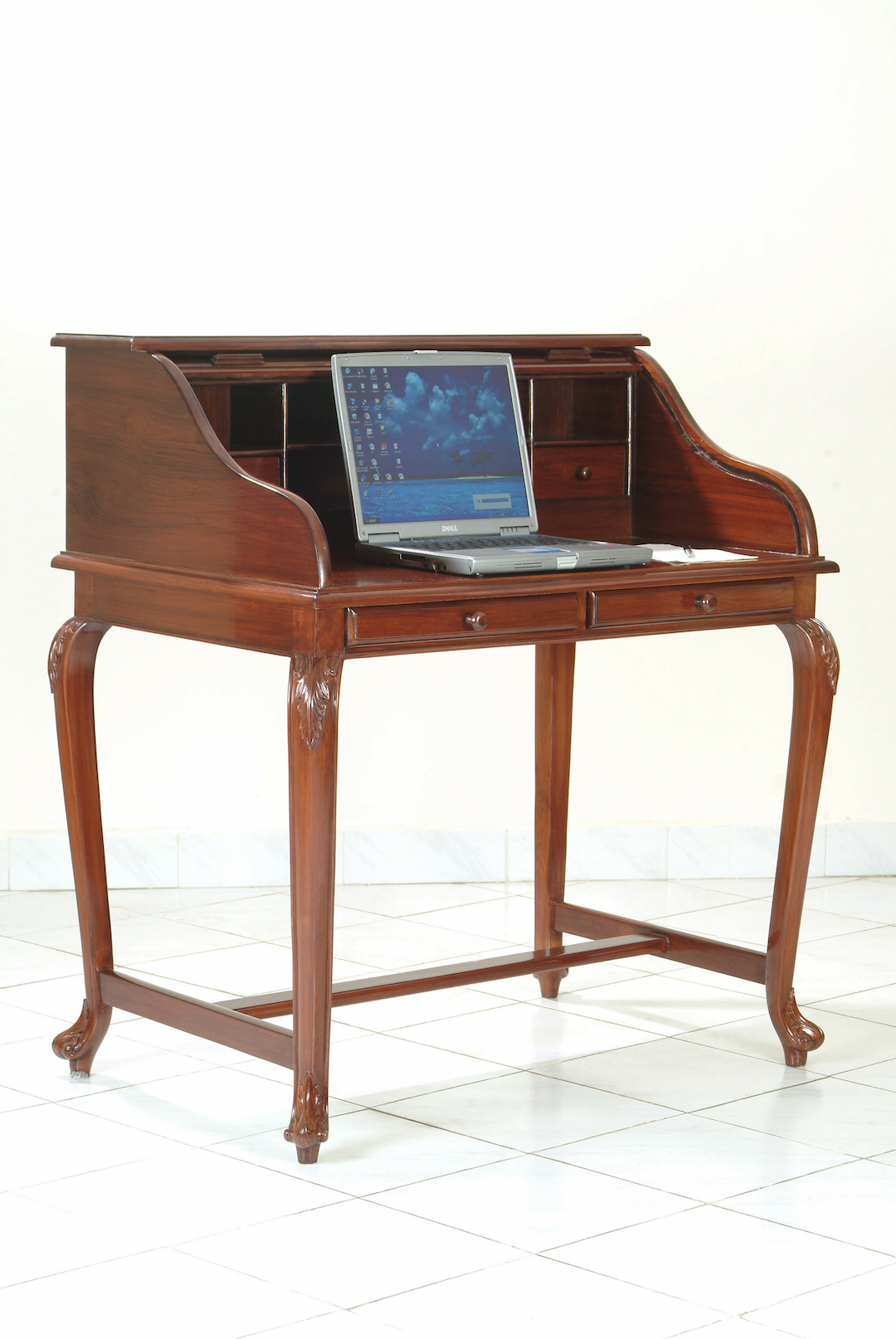 roll top writing desk Specially designed beautiful red oak rolltop desks, racks and presentation furniture to house audio and lighting mixing consoles, video, touch screens, system.